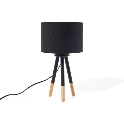 Lampa stołowa czarna TOBOL
