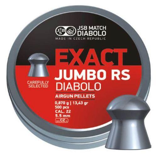 Śrut diabolo JSB Exact Jumbo RS kal. 5.52 mm 500 szt - 546207-500 z kategorii amunicja do wiatrówek