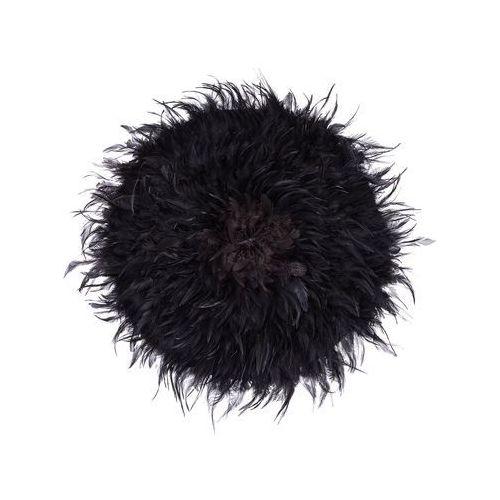 Beliani Dekoracja ścienna czarna Ø60 cm juju (4251682202213)
