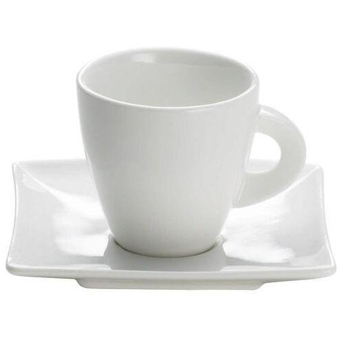 Maxwell & williams - east meets west - filiżanka do espresso, biała, 80 ml - 0,08 l