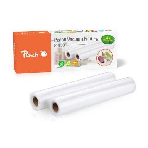 Folia do zgrzewarki próżniowej ph100, 2 rolki 28x300cm, 2x90 mikronów, 7 warstw marki Peach