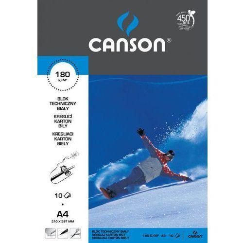 Canson Blok techniczny a4/10k. 6666171 biały