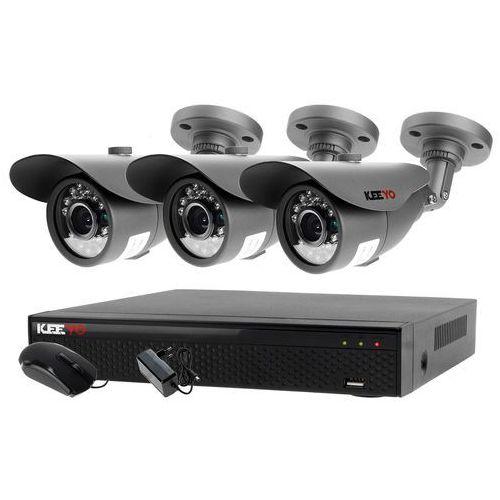 Monitoring zestaw: rejestrator 5w1 lv-xvr44se + 3x kamera lv-al20mt marki Ivelset