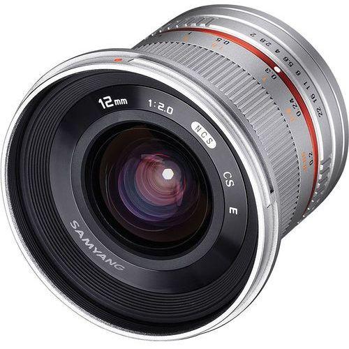 Samyang 12mm f/2.0 NCS CS Sony E (srebrny) - produkt w magazynie - szybka wysyłka! (8809298881375)