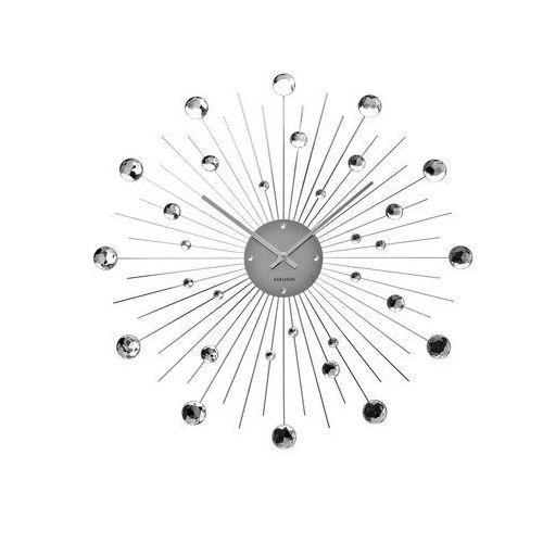 Karlsson Zegar ścienny sunburst crystal duży 50cm