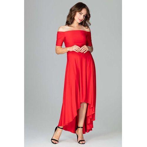 4c91b585 Suknie i sukienki Producent: Katrus, Kolor: czerwony, Kolor ...