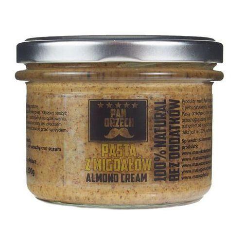 Masło migdałowe Naturalne bez dodatków 200g lub 500g / PAN ORZECH (5902114248451)