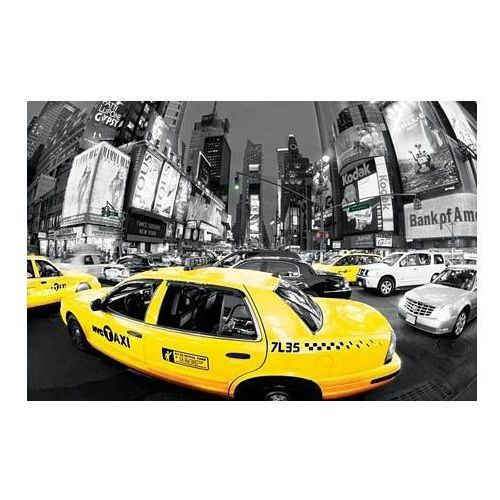 New York, Rush Hour Times Square (Yellow Cabs) - plakat, PP31721