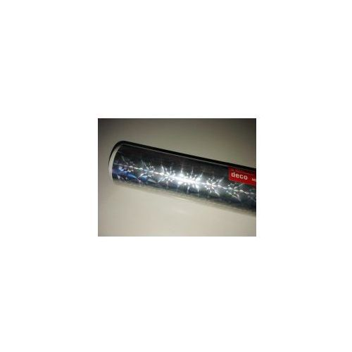 Okleina meblowa dc fix metaliczna brokatowa Prisma srebrna koła 217-0009