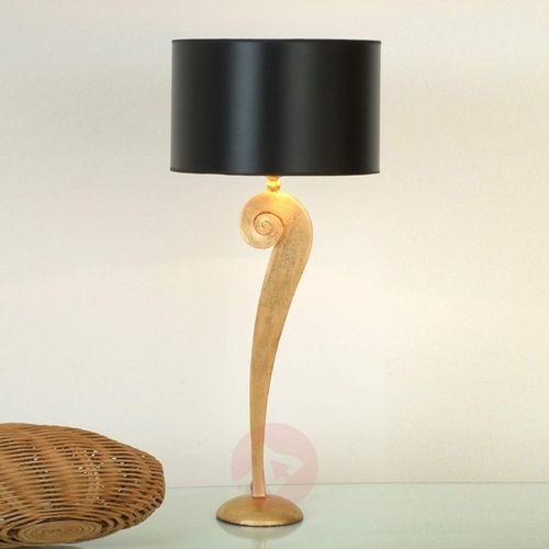 Holländer lino lampa stołowa złoty, 1-punktowy - klasyczny - obszar wewnętrzny - lino - czas dostawy: od 8-12 dni roboczych