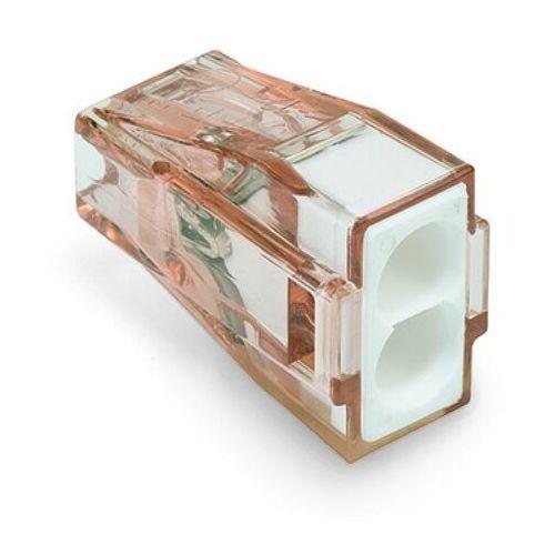 Złączka instalacyjna 2x4mm biała 773-602 marki Wago