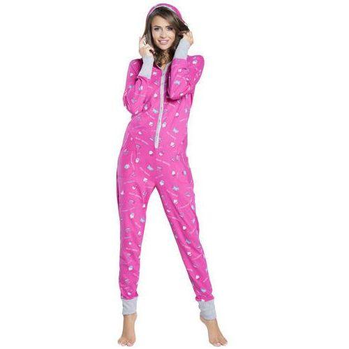 Italian fashion Kombinezon do spania piżama appetito italion fashion - różowy