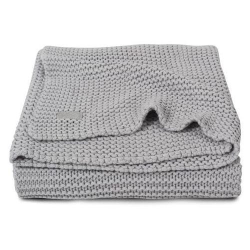 Jollein - koc heavy knit popielaty szary 75x100cm (8717329329829)