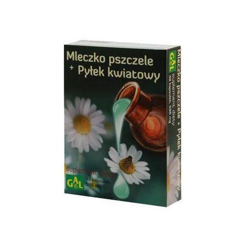 MLECZKO PSZCZELE + PYŁEK KWIATOWY 48kaps (5907501110526)