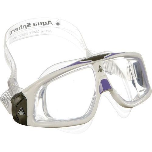 Aqua sphere Aquasphere okulary seal 2.0 lady jasne szkła, white-lavender