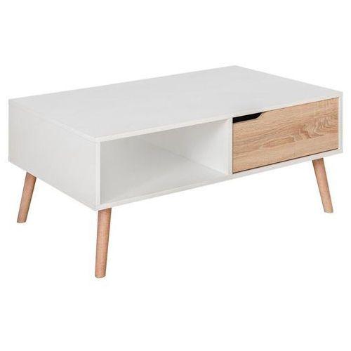 System Fastebo stolik kawowy T60 biały mat/dąb sonoma, FL-0142