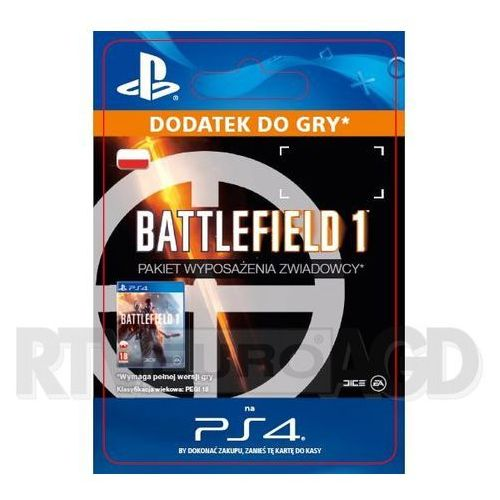 Sony Battlefield 1 - pakiet wyposażenia zwiadowcy [kod aktywacyjny] (0000006200227)