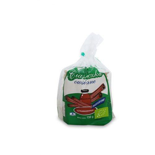 Ciasteczka owsiane cynamon Bd/c BIO 150g- BIO ANIA, 5903453002902