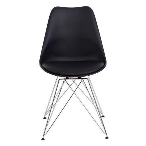 D2.design Krzesło norden dsr pp czarne - czarny