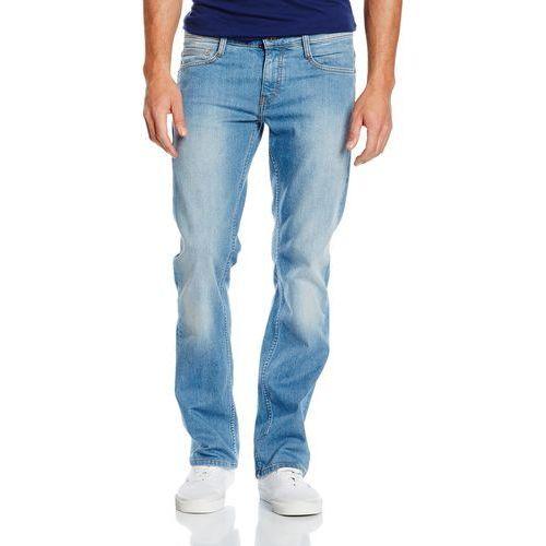 Spodnie jeansowe oregon boot dla mężczyzn, kolor: niebieski, rozmiar: w31/l32, Mustang