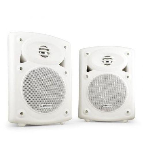 Qtx qr5w para głośników ściennych 1xaktywny 1xpasywny białe (5015972057155)