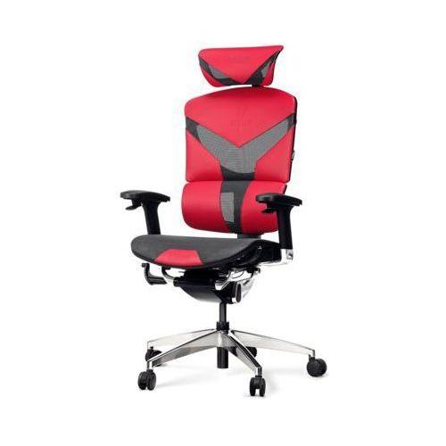 Diablo chairs Fotel v-dynamic karmazynowy