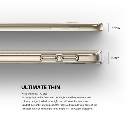 Etui Rearth Ringke Air Samsung Galaxy S7 - Czarny, 8809478824727