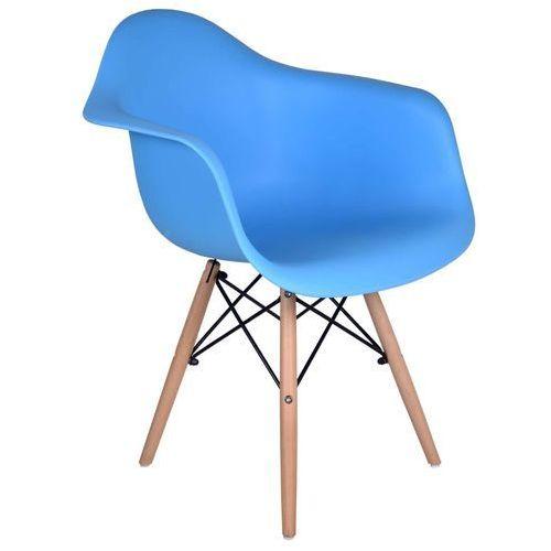 Krzesło nicea niebieskie marki Ehokery.pl