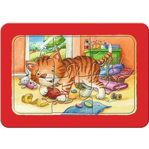 Ravensburger Układanka 3 x 6 elementów - Zwierzęta - DARMOWA DOSTAWA OD 199 ZŁ!!!