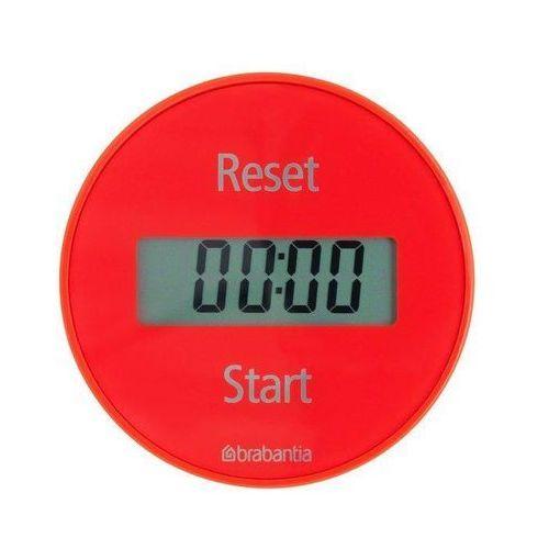 Minutnik magnetyczny Brabantia czerwony (8710755103704)