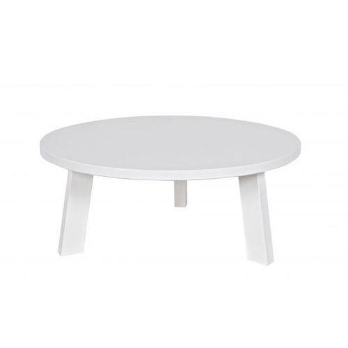 Woood :: stolik rhonda biały 80 cm - stolik 80cm (biały)