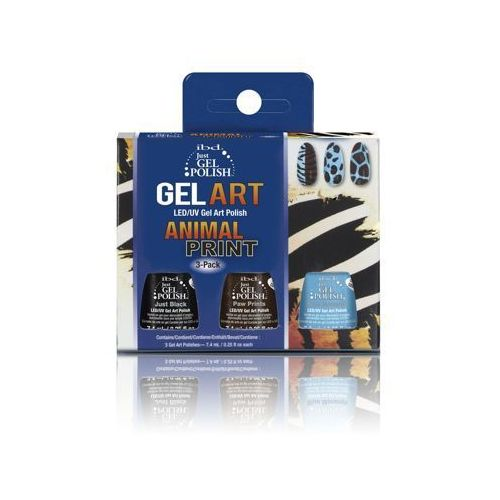 IBD Just Gel Polish ANIMAL PRINT KIT - do zdobień - ANIMAL PRINT KIT - do zdobień