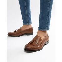 loco tassel loafers in tan leather - tan, Ben sherman