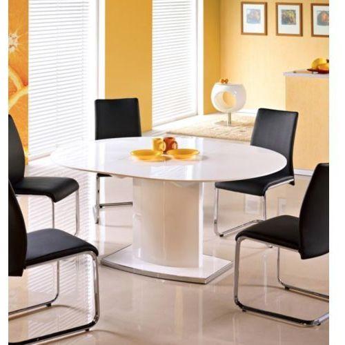 Lakierowany stół na jednej nodze federico marki Halmar