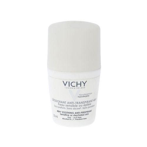 VICHY Dezodorant w kulce 48h - skóra bardzo wrażliwa depilowana - biały 50ml CENA (3337871320324)