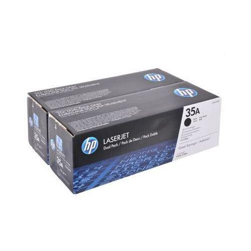 Tonery oryginalne 35a czarne (dwupak) do hp laserjet p1005 - darmowa dostawa w 24h marki Hewlett packard