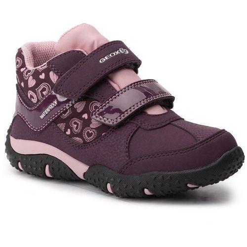 Trzewiki - j baltic g. b wpf b j942vb 0fuce c8224 s purple/pink marki Geox