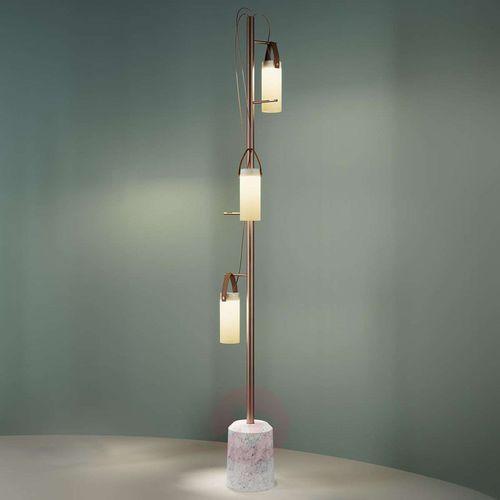 Fontana arte 3-punktowa designerska lampa stojąca led galerie