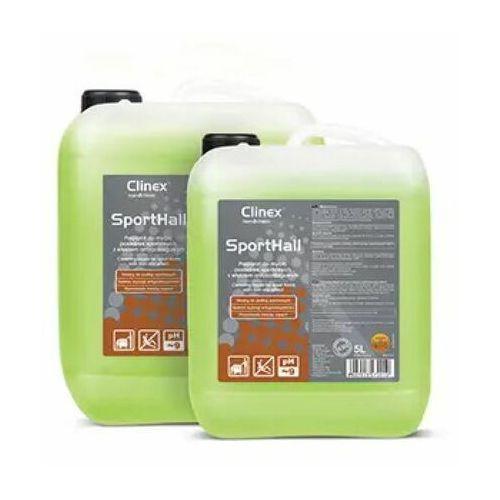 SportHall Clinex 5L - Preparat do mycia posadzek sportowych z efektem antypoślizgowym