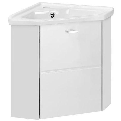 Comad Narożna szafka pod umywalkę finka biała 824- 9068corne