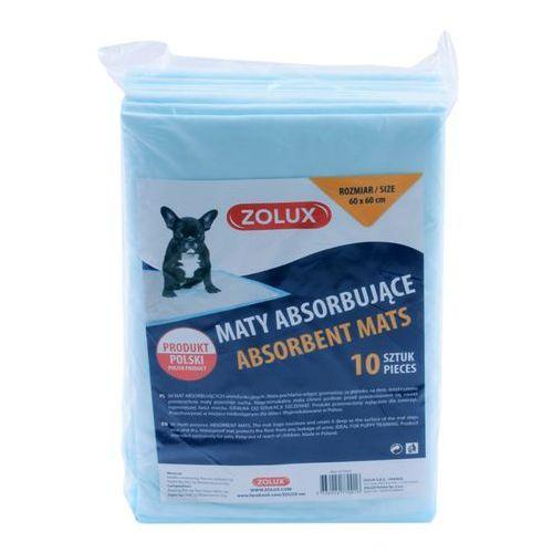 Zolux maty absorbujące 60 x 60 cm - 10 sztuk - darmowa dostawa od 95 zł!