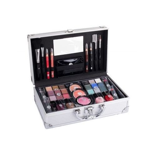2k fabulous beauty train case zestaw complete makeup palette dla kobiet - OKAZJE