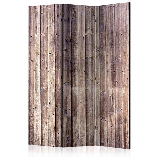 Artgeist Parawan 3-częściowy - drewniany urok [parawan]