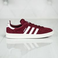 adidas Originals CAMPUS Tenisówki i Trampki collegiate burgundy/footwear white/chalk white, w 7 rozmiarach