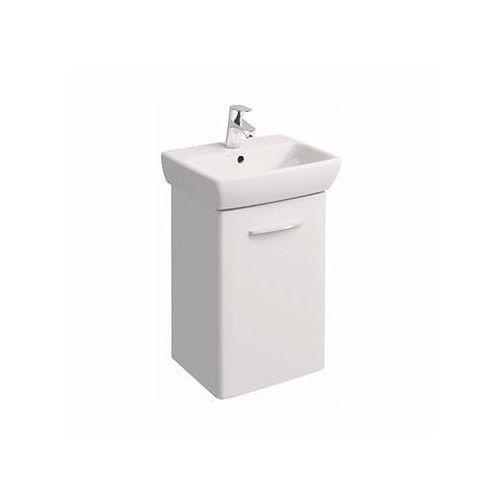 KOŁO szafka Nova Pro biały połysk + umywalka Nova Pro 45 M39024000, kolor biały