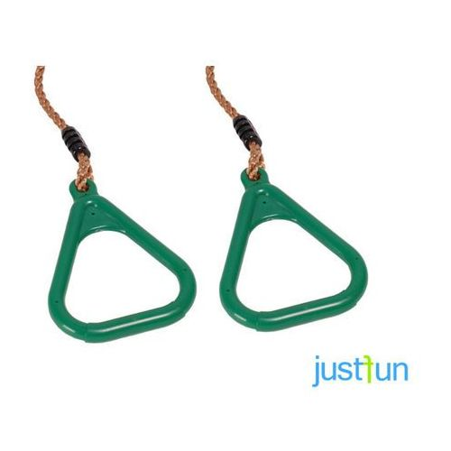 Obręcze plastikowe trójkątne - zielony marki Just fun