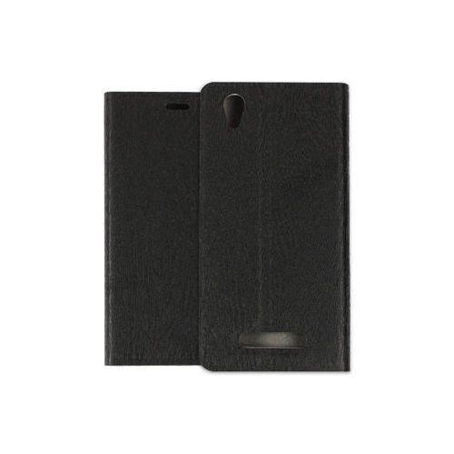 etuo Flex Book - ZTE Blade A452 LTE - pokrowiec na telefon - czarny, kolor czarny