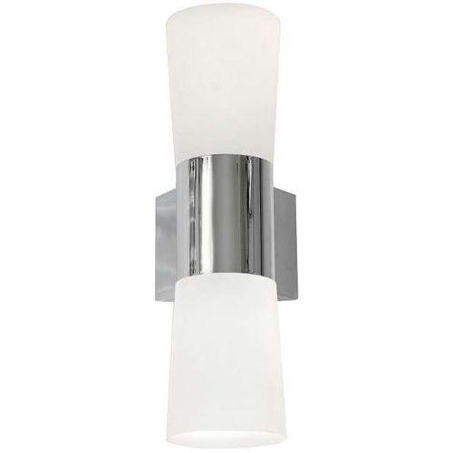Kinkiet LAMPA ścienna BATH 0027 Milagro łazienkowa OPRAWA LED 4W IP44 chrom biały