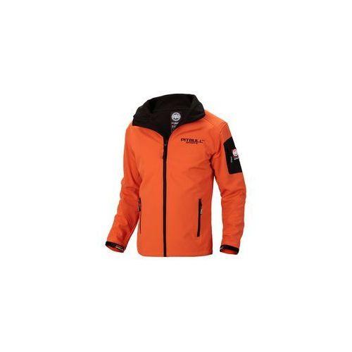 Kurtka z kapturem Pit Bull Softshell Halsey Orange (526009.2500)