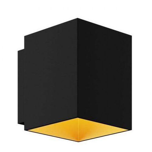 Kinkiet SOLA WL SQUARE BLACK-GOLD 91063 -Zuma Line - Zapytaj o kupon rabatowy (2011005668537)